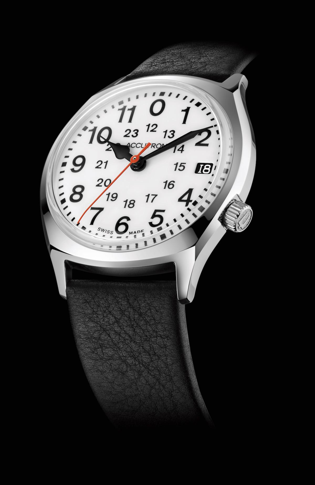 Accutron Legacy Model Recalls Railroad Watches